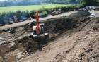 hardstanding excavation