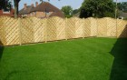 continental fencing & new lawn