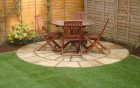 small sandstone circle