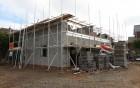 2 semi detached homes under construction